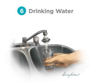 6 - drinking water