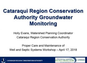CRCA groundwater monitoring title page