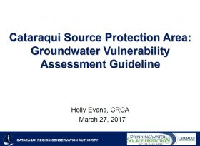 Groundwater Vulnerability Assessment Guideline - cover page