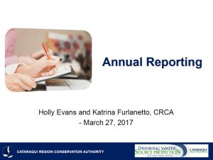 2017 - Annual Reporting - Cover Page