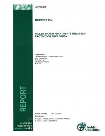 Cover of Miller Manor Study