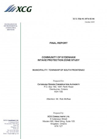 Cover of Sydenham Study