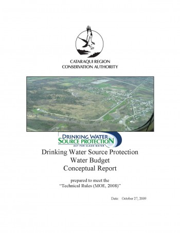Cover of Water Budget