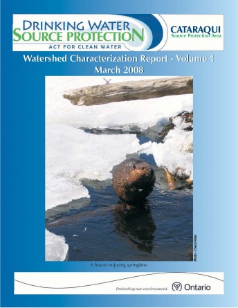 Cover of Watershed Characterization Report