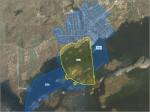 Gananoque (James W. King) intake protection zone