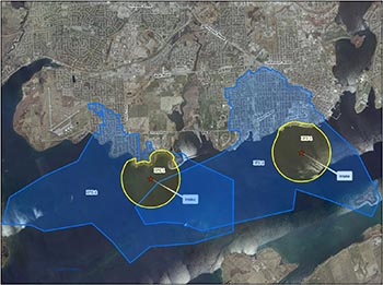 Kingston (Point Pleasant and Kingston Central) intake protection zone map