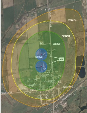 Lansdowne wellhead protection area map