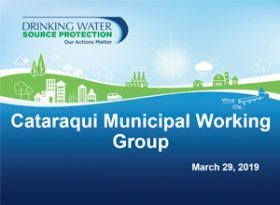 Municipal Working Group Presentation
