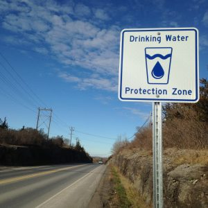 Drinking Water Protection Zone road sidn