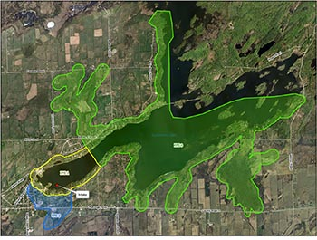 Map of Sydenham intake protection zone