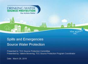 Spills and Emergency Response Presentation - Trent Conservation