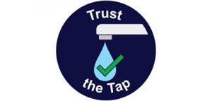 Trust the Tap logo