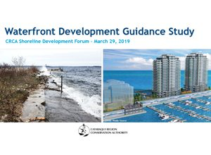 Waterfront Development Guidance Study Presentation - CRCA