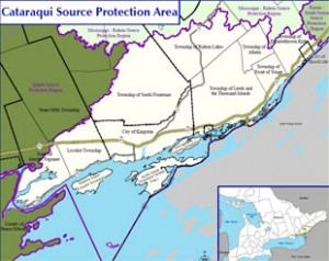 Cataraqui Source Protection Map